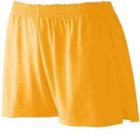 Ladies' Trim Fit Jersery Short Thumbnail