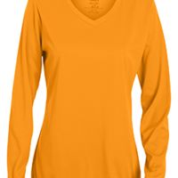Girls' Wicking Long-Sleeve T-Shirt Thumbnail