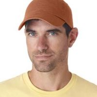 Adult Classic Cut Chino Cotton Twill Unstructured Cap Thumbnail