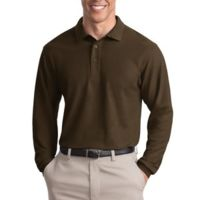 Affiliate -  Silk Touch™ Long Sleeve Polo Thumbnail