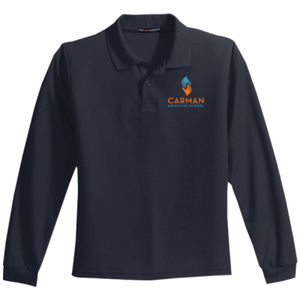 CAS Youth Long Sleeve Polo Thumbnail